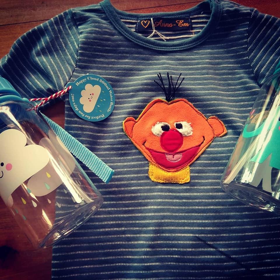 Ernie - Applikation Shirt / Body